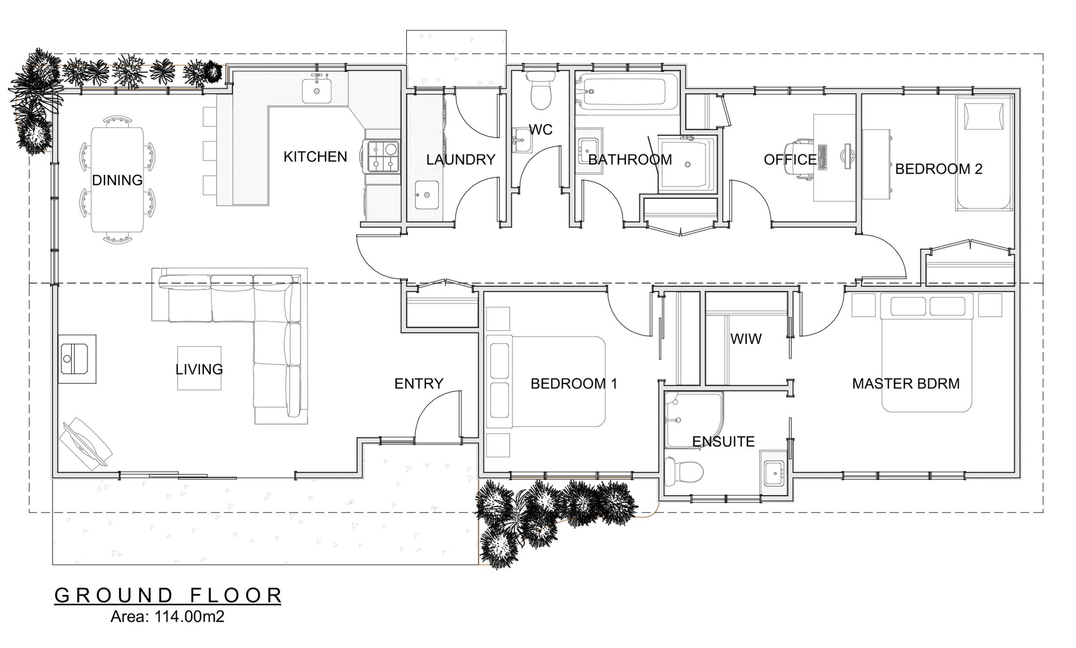 freedom homes otaki floor plan