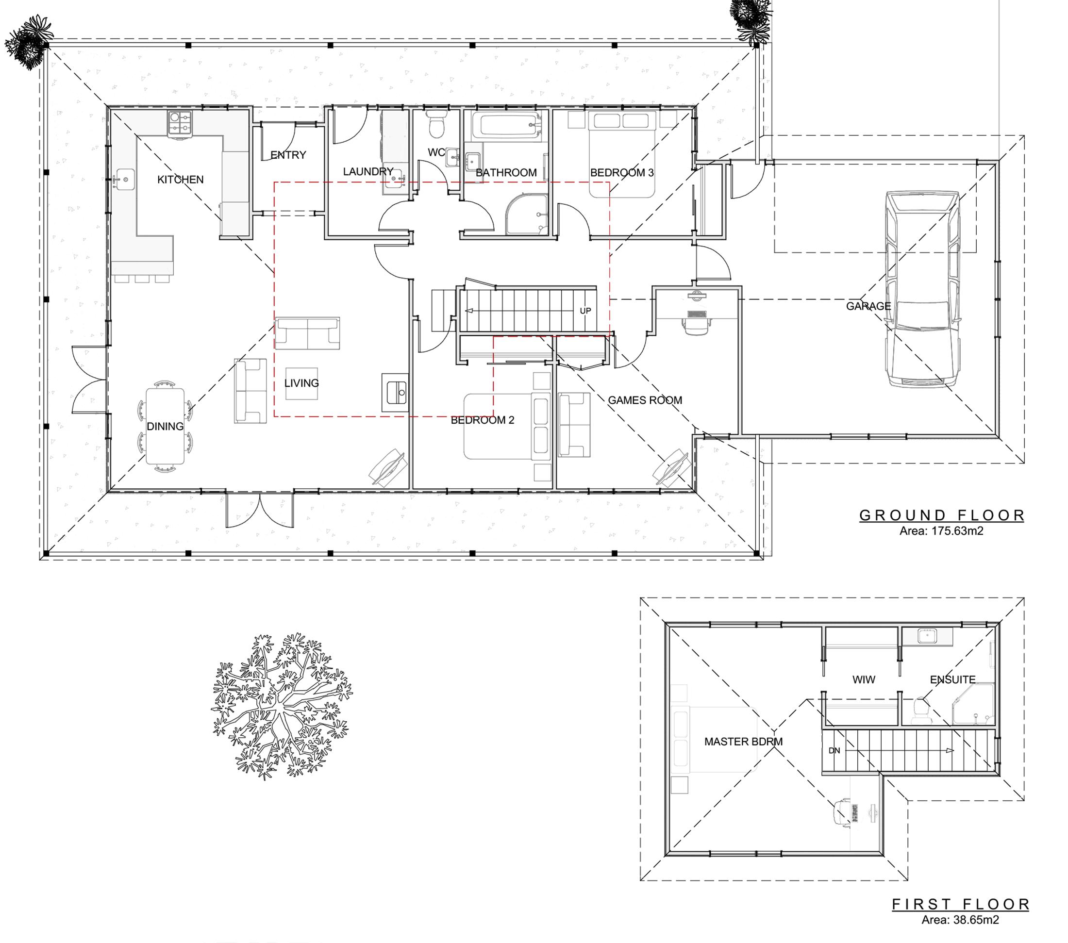 freedom homes tikokino floor plan